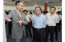 中央政治局委员、中共广东省省委书记胡春华来我司视察工作
